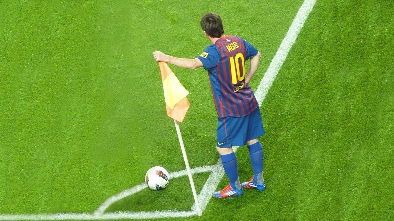 Ketangakasan Lional Messi Dalam Bermain Sepakbola Yang Mengejutkan Dunia 1