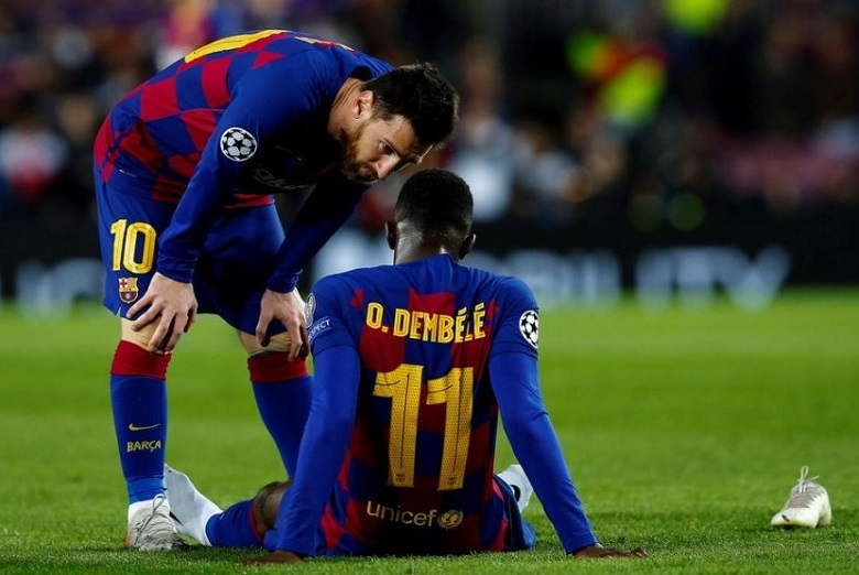 Barcelona akan menjual murah Ousmane Dembele