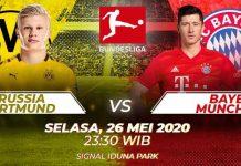 Statistik dan Perkiraan Susunan Pemain Dortmund vs Munchen