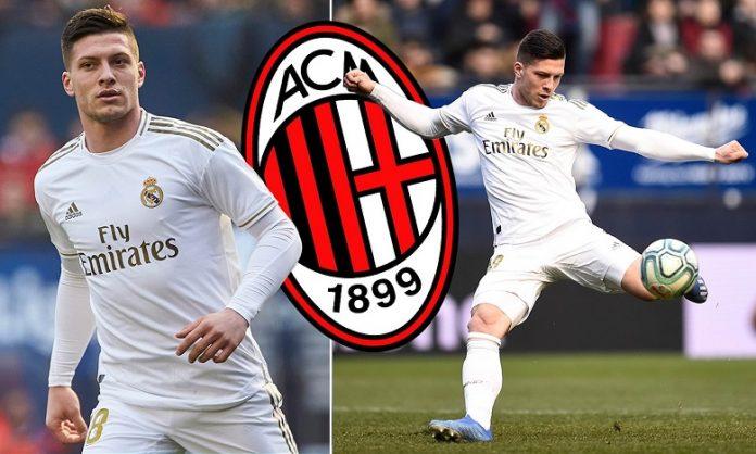 Luka Jovic Selangkah Lagi Menuju AC Milan
