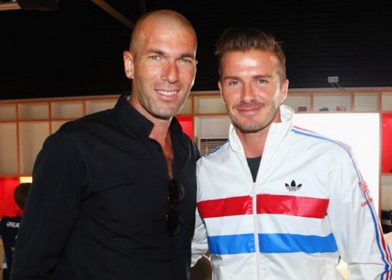 David Beckhamdan Zinedine Zidane