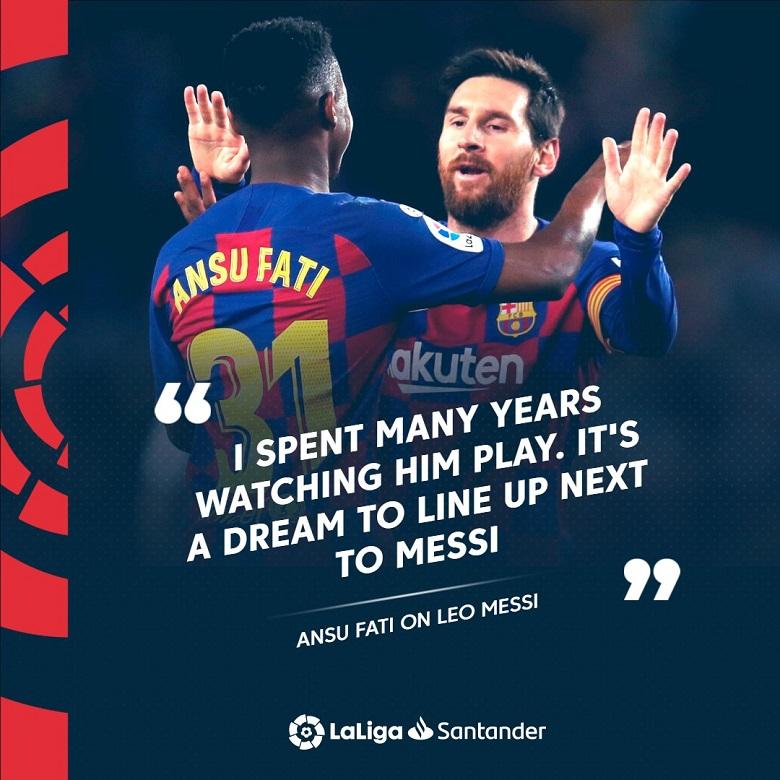 Akankah Ansu Fati Bisa Meneruskan Takhta Lionel Messi?