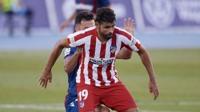 Levante vs Atletico Madrid, La Liga Ke - 31