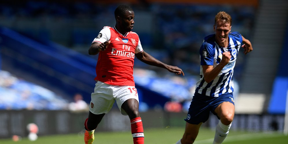 Pertandingan Liga Inggris: Brighton vs Arsenal