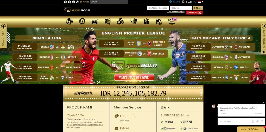 Situs Terbaik dan Terlengkap Realbola