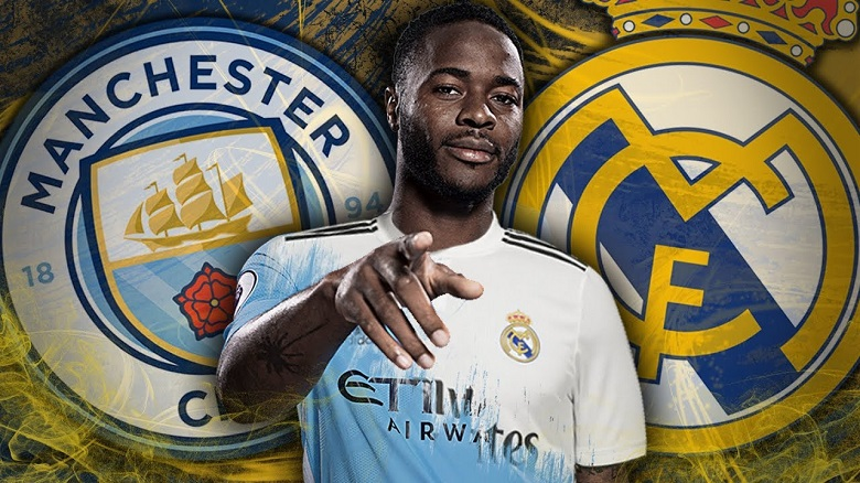 Real Madrid punya kartu As untuk merayu Sterling