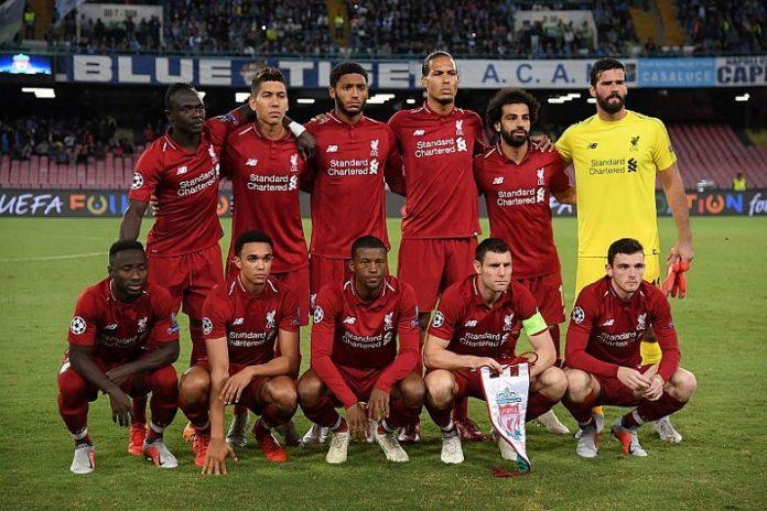 Skuad Utama Liverpool 2020