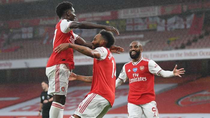 Gol Pertama Arsenal, Arsenal vs Leicester City