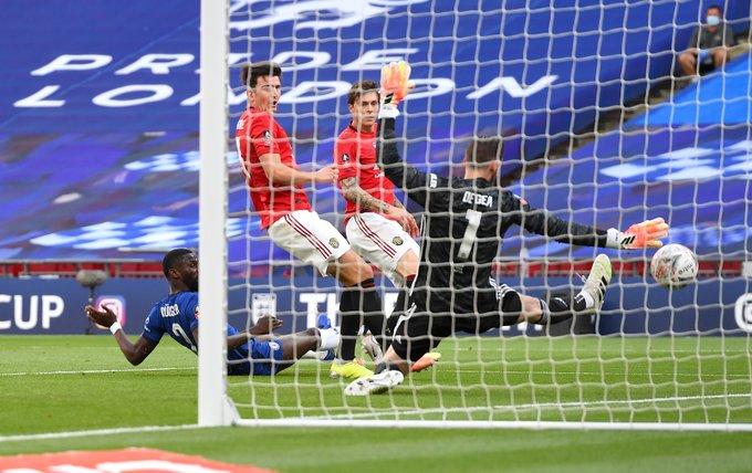Jalannya Pertandingan Man Utd vs Chelsea
