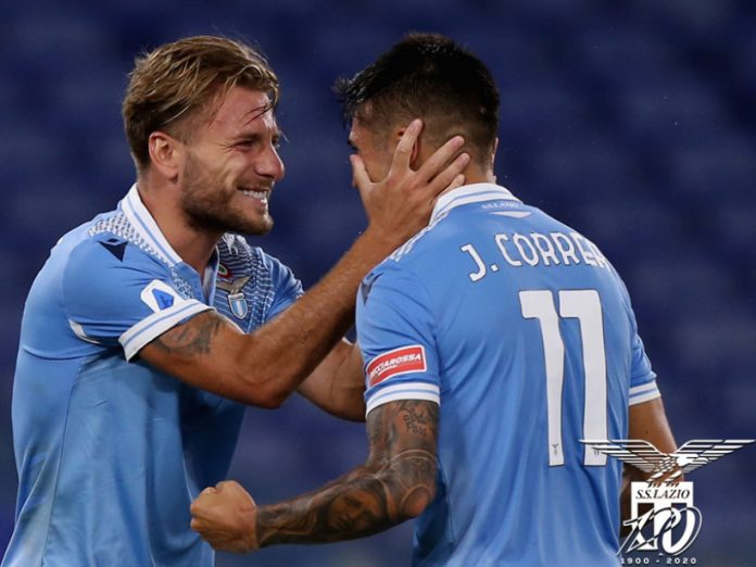 Lazio vs Brescia, Akannya Lazio Naik Peringkat