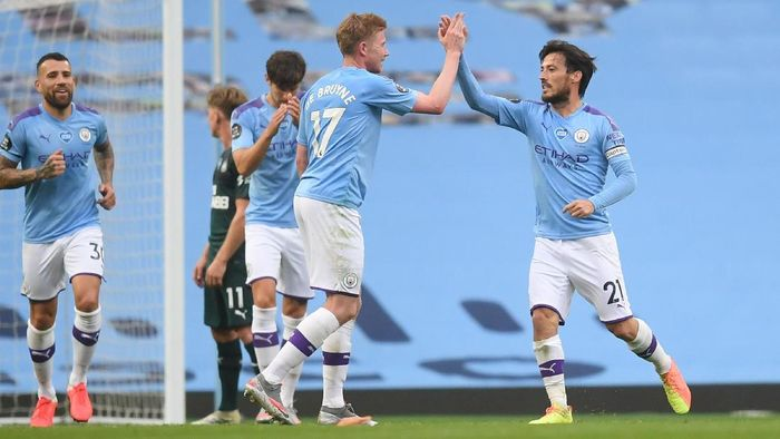 Man City vs Newcastle Skor 5 -0