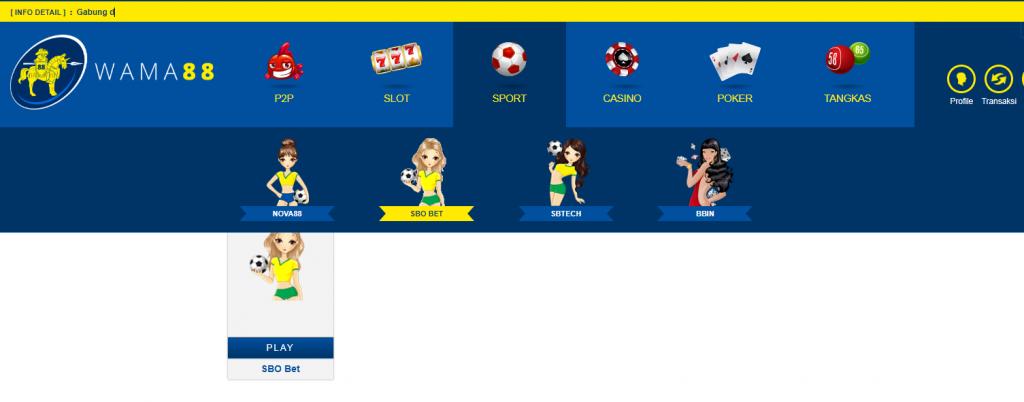 Situs permainan terbaik WAMA88