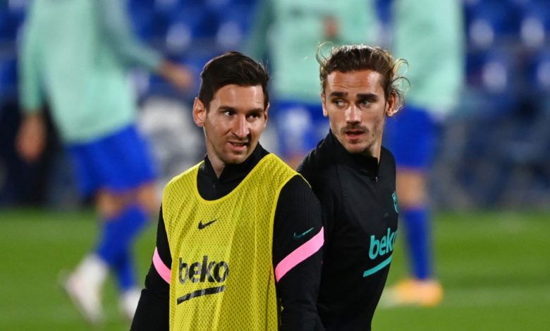 Antoine Griezmann tanggapi Berita Tak Akur bersama Lionel Messi 1