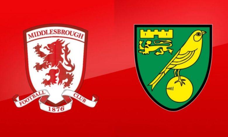 Prediksi Bola Jitu: Middlesbrough vs Norwich City 21 November 2020 1