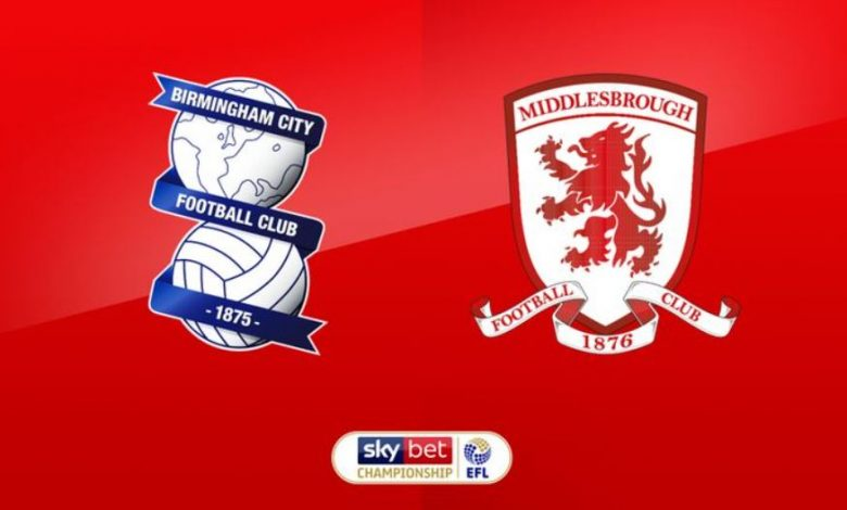 Prediksi Birmingham vs Middlesbrough 19 Desember 2020 1