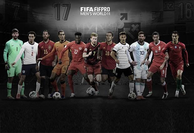 Daftar Tim Terbaik FIFAPro 2020, Liverpool dan Munchen Mendominasi 1