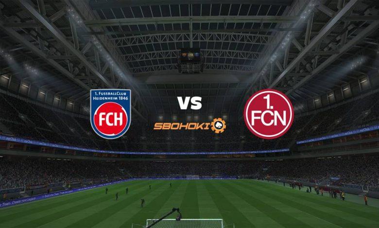 Live Streaming  1. FC Heidenheim vs FC Nurnberg 2 Januari 2021 1