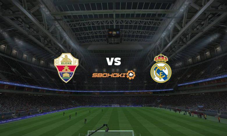 Live Streaming  Elche vs Real Madrid 30 Desember 2020 1