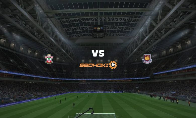 Live Streaming  Southampton vs West Ham United 29 Desember 2020 1