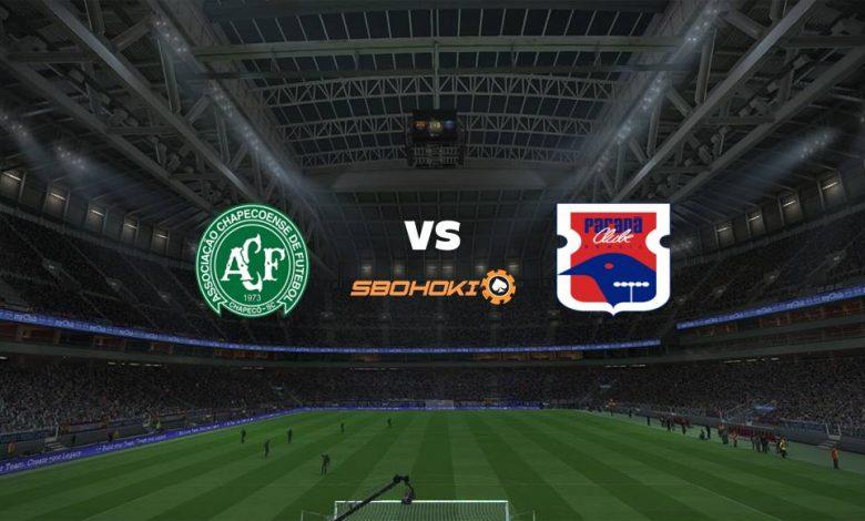 Live Streaming  Chapecoense vs Paraná 28 Desember 2020 1