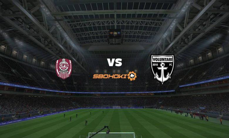 Live Streaming  CFR Cluj-Napoca vs Voluntari 13 Februari 2021 1