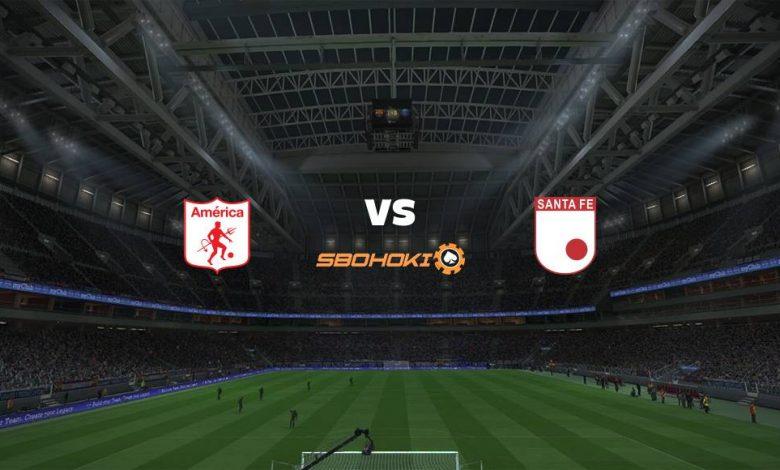 Live Streaming  América de Cali vs Independiente Santa Fe 19 Februari 2021 1