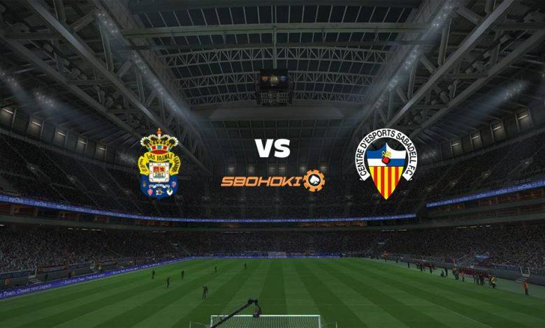 Live Streaming  Las Palmas vs CD Sabadell 7 Februari 2021 1