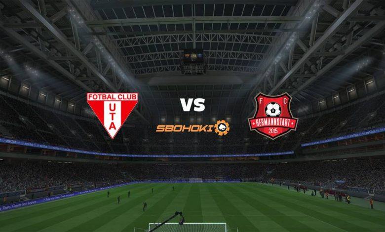Live Streaming  UTA Arad vs Hermannstadt 7 Februari 2021 1