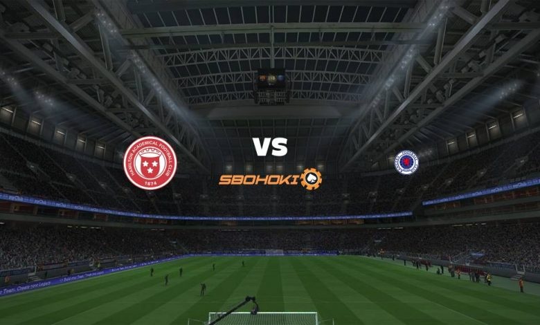 Live Streaming  Hamilton Academical vs Rangers 7 Februari 2021 1