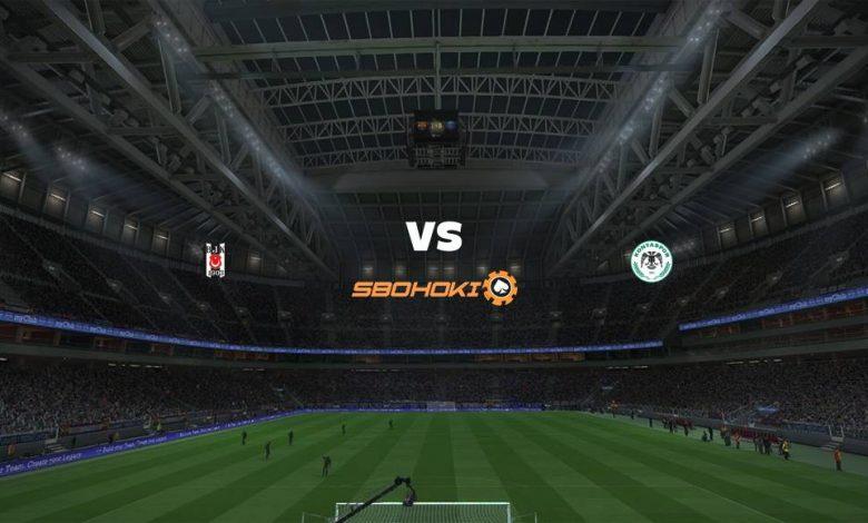 Live Streaming  Besiktas vs Konyaspor 7 Februari 2021 1