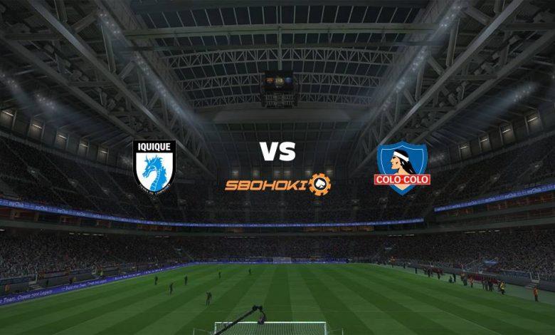 Live Streaming  Deportes Iquique vs Colo Colo 7 Februari 2021 1