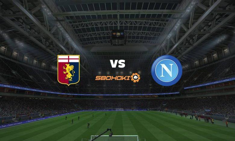 Live Streaming  Genoa vs Napoli 6 Februari 2021 1