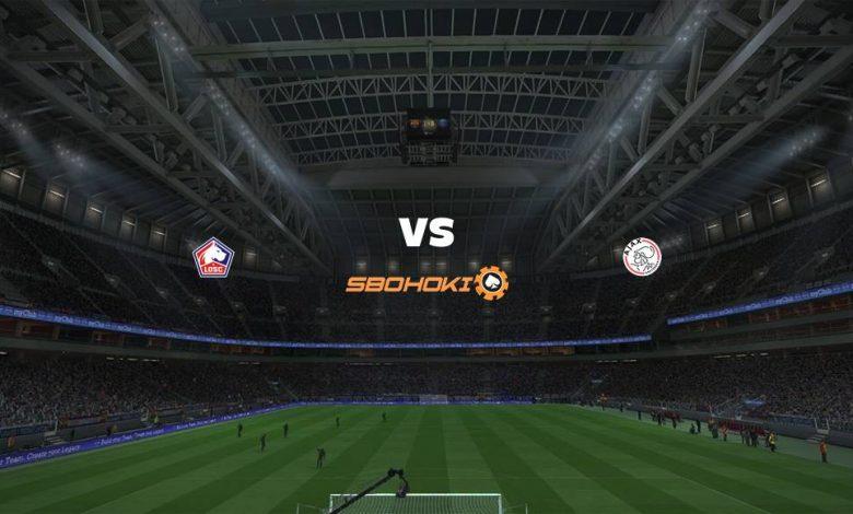 Live Streaming  Lille vs Ajax Amsterdam 18 Februari 2021 1