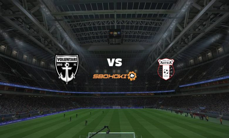 Live Streaming  Voluntari vs FK Astra Giurgiu 3 Februari 2021 1
