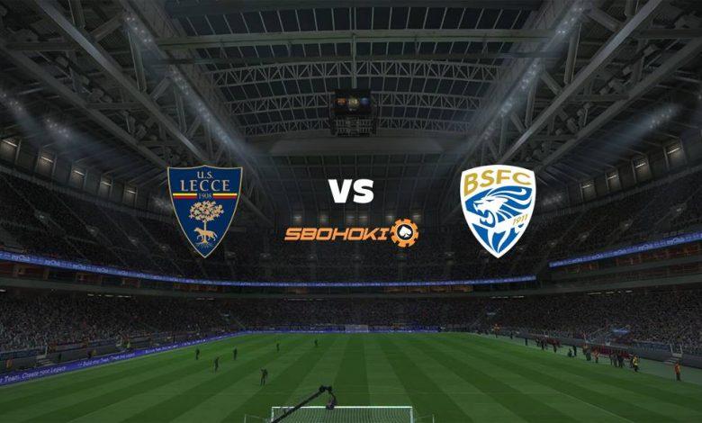 Live Streaming  Lecce vs Brescia 9 Februari 2021 1