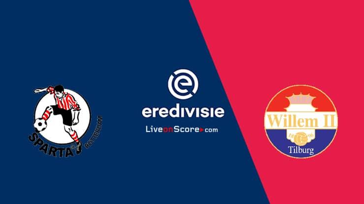 Prediksi Eredivisie: Sparta Rotterdam vs Willem II 1