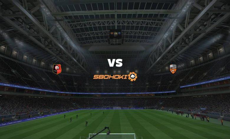 Live Streaming  Rennes vs Lorient 3 Februari 2021 1