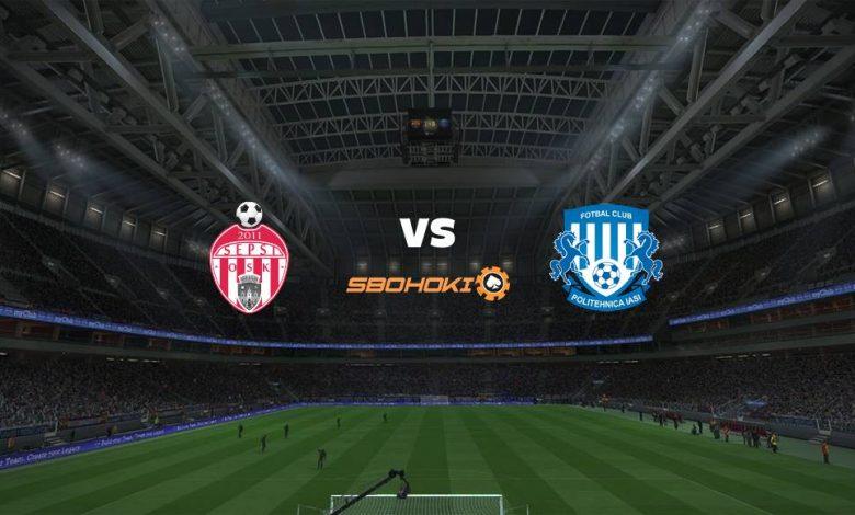Live Streaming  Sepsi Sfantu Gheorghe vs CSMS Iasi 5 Februari 2021 1