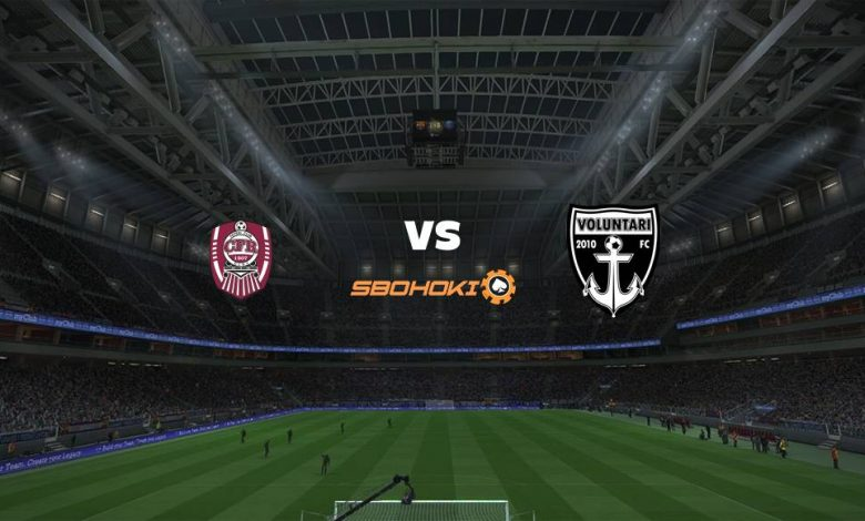 Live Streaming  CFR Cluj-Napoca vs Voluntari 15 Februari 2021 1