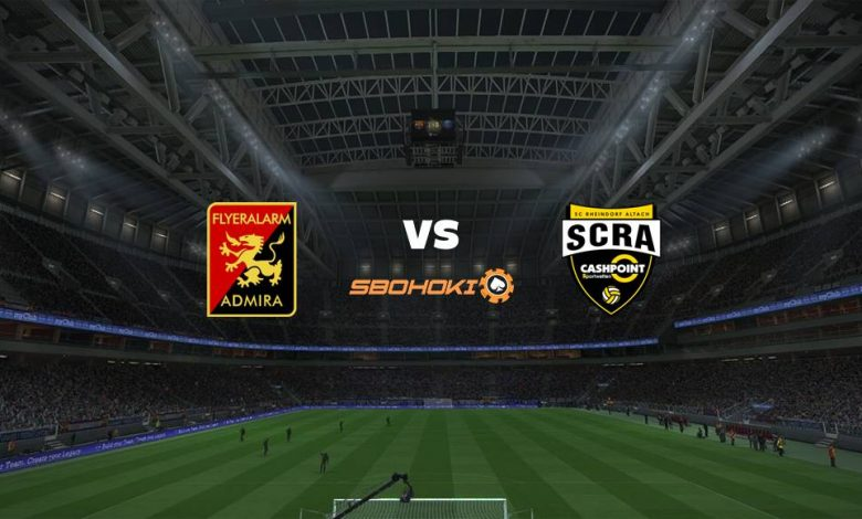 Live Streaming FC Admira Wacker Modling vs SC Rheindorf Altach 10 Februari 2021 1