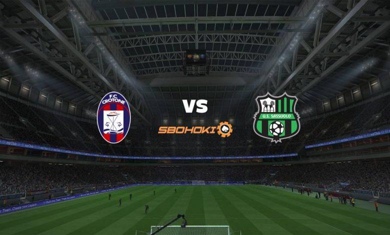 Live Streaming  Crotone vs Sassuolo 14 Februari 2021 1
