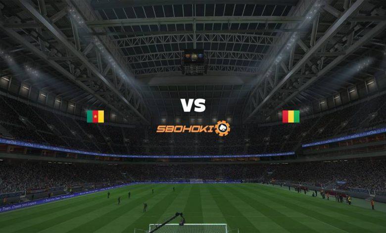 Live Streaming  Cameroon vs Guinea 6 Februari 2021 1