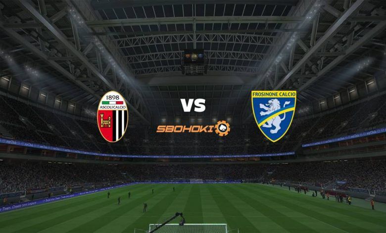 Live Streaming  Ascoli vs Frosinone 9 Februari 2021 1