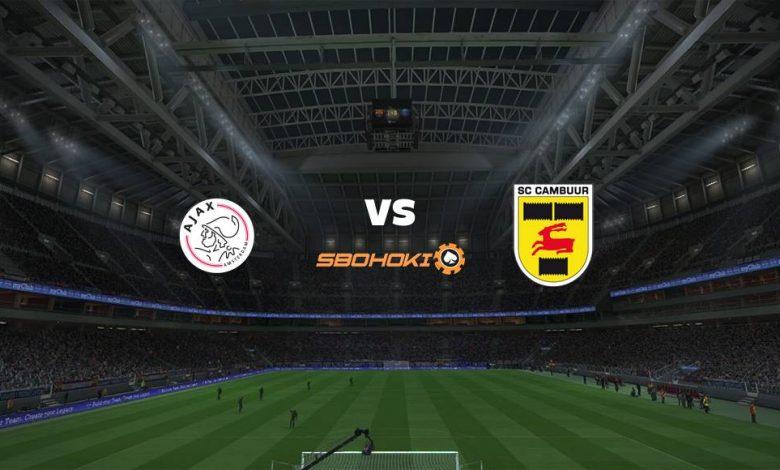 Live Streaming  Jong Ajax vs SC Cambuur 8 Februari 2021 1