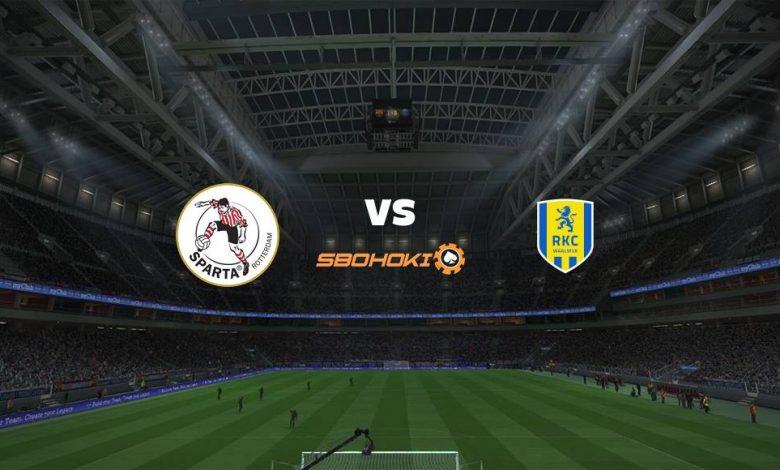 Live Streaming Sparta Rotterdam vs RKC Waalwijk 13 Maret 2021 1