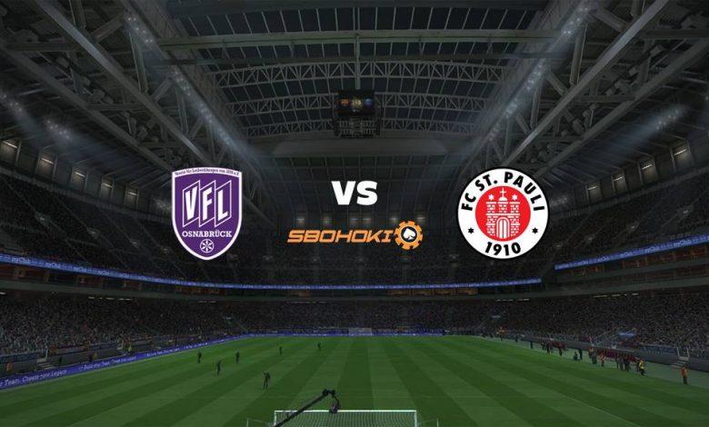 Live Streaming VfL Osnabruck vs St Pauli 21 Maret 2021 1