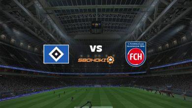 Photo of Live Streaming  Hamburg SV vs 1. FC Heidenheim 20 Maret 2021