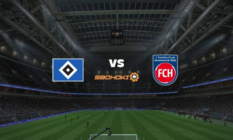 Live Streaming Hamburg SV vs 1. FC Heidenheim 20 Maret 2021 1