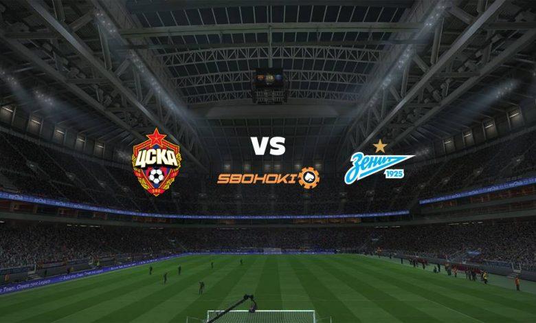 Live Streaming CSKA Moscow vs Zenit St Petersburg 17 Maret 2021 1
