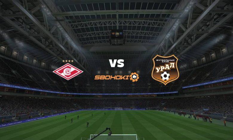 Live Streaming Spartak Moscow vs FC Ural Ekaterinburg 18 Maret 2021 1